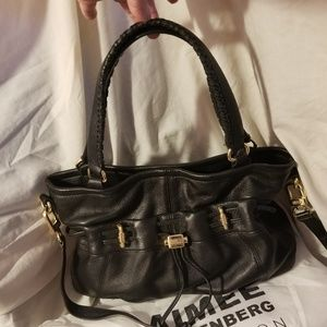 Aimee Kestenberg westport shopper black leather